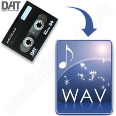 DAT to WAV Disc Conversion