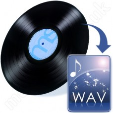 LP to WAV F Disc (vinyl records)