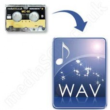 Microcassette Tape to WAV Disc