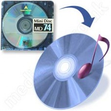 MiniDisc to CD