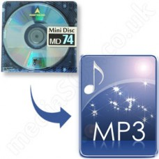 MiniDisc to MP3 File Disc