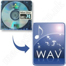 MiniDisc to WAV  Disc