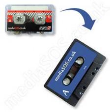 Mini-cassette Tape to Audio Tape