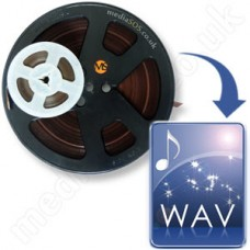 Reel to Reel to WAV Disc (1/4inch magnetic tape)
