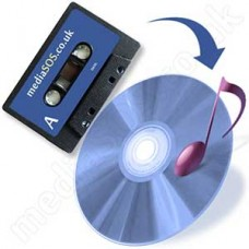 Audio Cassette to CD (standard tape)