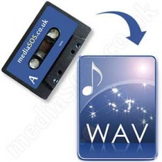 Audio Tape to WAV Disc
