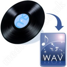 Vinyl to WAV Disc (vinyl records)