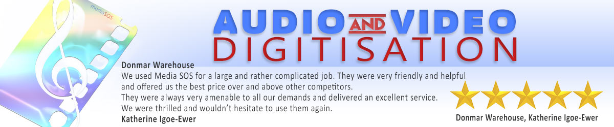 Audio and Video Digitisation