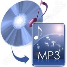 Convert Audio CD to MP3 Disc
