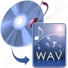 Convert Audio CD to WAV Disc