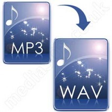 Convert MP3 to WAV Disc