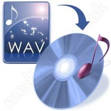 Convert WAV to Audio CD