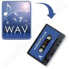 Convert WAV to Audio Tape