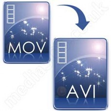 Convert MOV (QuickTime) to AVI Disc