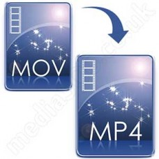 Convert MOV (QuickTime) to MP4 Disc