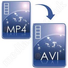 Convert MP4 to AVI Disc