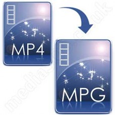 Convert MP4 to MPG/MPEG Disc