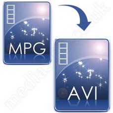 Convert MPG/MPEG 2 to AVI Disc