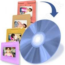 Slide Scanning to CD