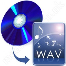 Rip DVD to WAV Disc