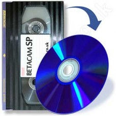 Betacam to DVD (Betacam SP/S)
