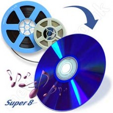 8mm & Super 8 to DVD HQ (with sound cine film)