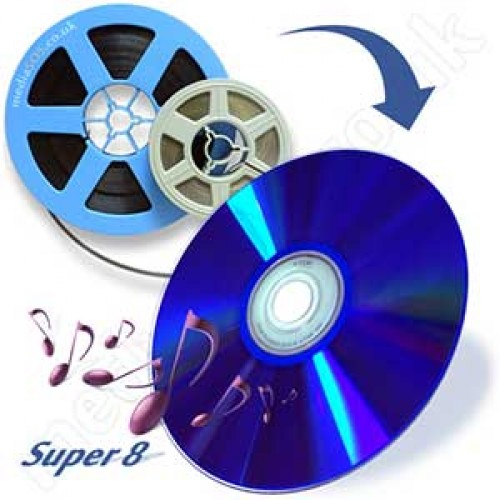 Super 8 To Dvd Mp4 Disc Conversion With Sound Cine Film
