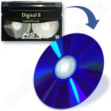 Digital 8 to DVD (camcorder video tape)