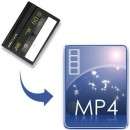 Mini DV to MP4-disc (camcorder video tape)