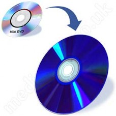 Mini DVD to DVD (camcorder video disc)