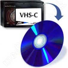VHS-C to DVD (compact vhs tape)