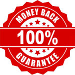 100% Money Back is Guaranteed